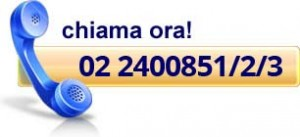 telefonaci allo 02 2400851/2/3